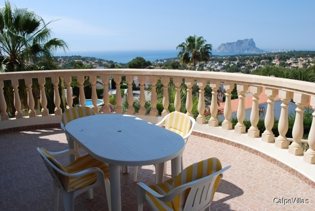 Imposante Villa in Moraira San Jaima mit Aussen-Pool und Indoor-Pool