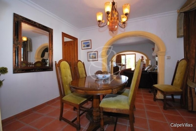 Luxurious villa in Benissa offering lots of privacy