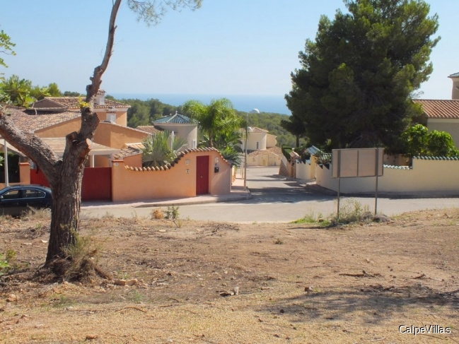 Plots in Benissa with in a top location
