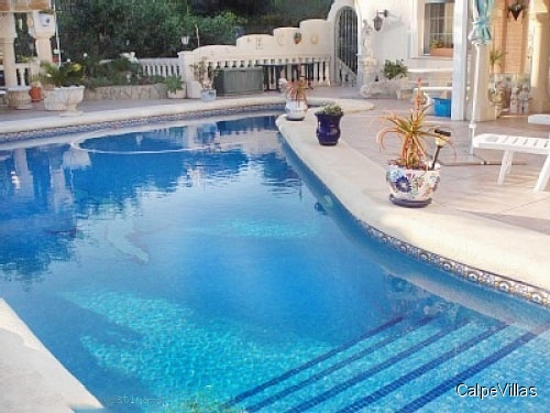 Villa with sea views and all comfort in Moraira. Price Reduced!