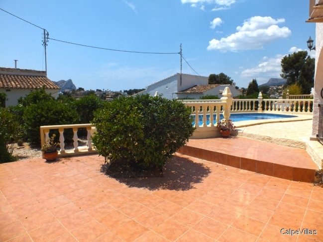 Large villa in Benissa 300 m from the beach
