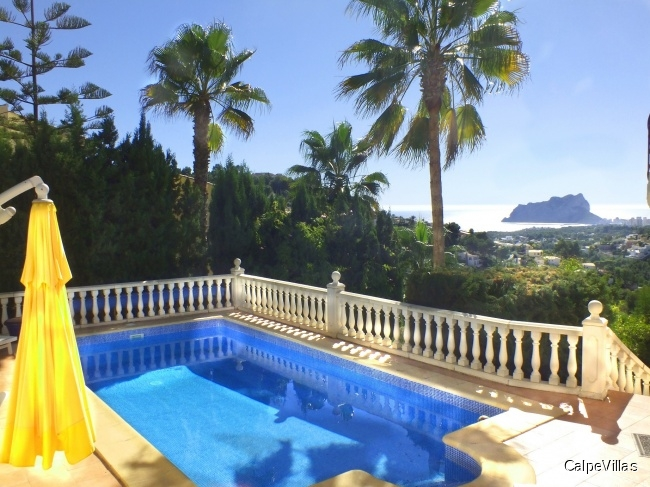 Beautiful villa in Benissa with pool and panoramic sea view
