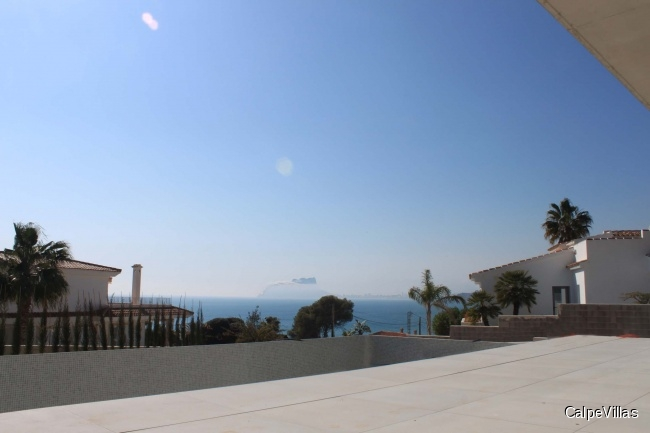 New house in Moraira El Portet, 50 m from the sea