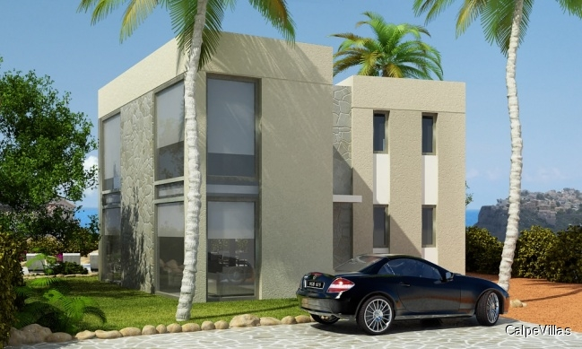 Exclusive villa to be built. Without plot.