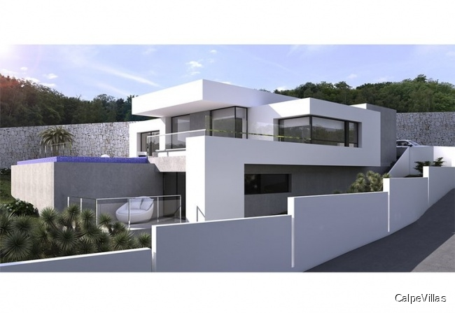New build: Villa in Moraira
