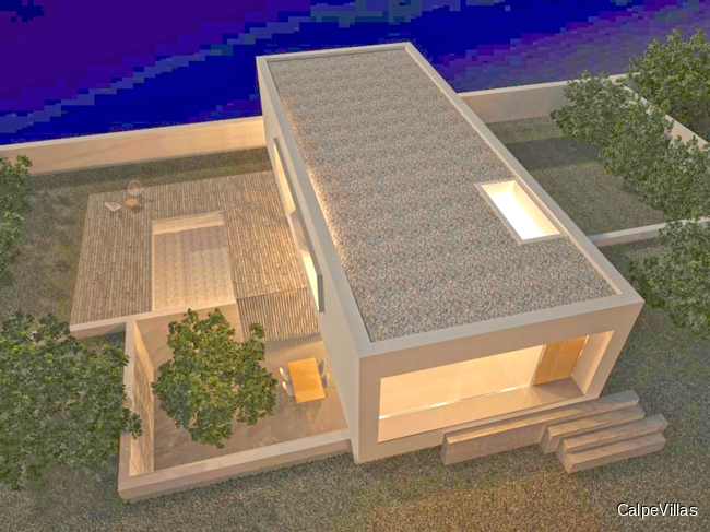 New built modern villa in Moraira for sale