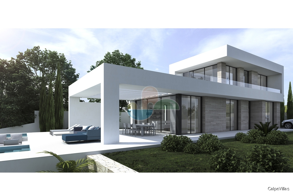 Modern villa - New built - Moraira