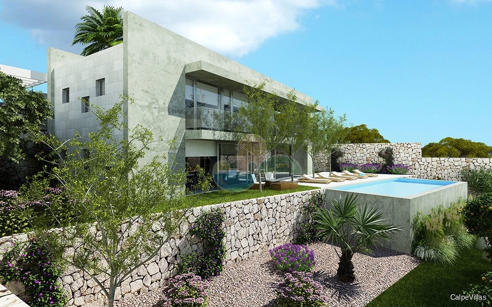New Construction - Zero-Energy Villa in Calpe, 1.2 km from beach and center