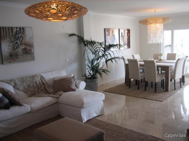 Luxury Apartment in Benissa 170 m² with 3 bedrooms, 1st quality - fully furnitured