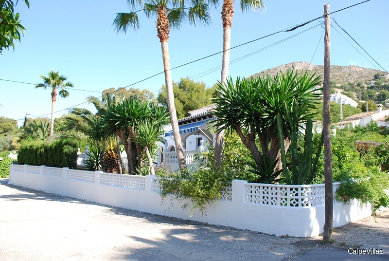 Villa in moraira el portet 1 km from the beach - Villa el portet ...